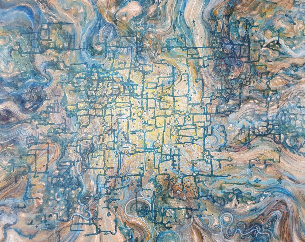 Jocelyne Shimabukuro peinture