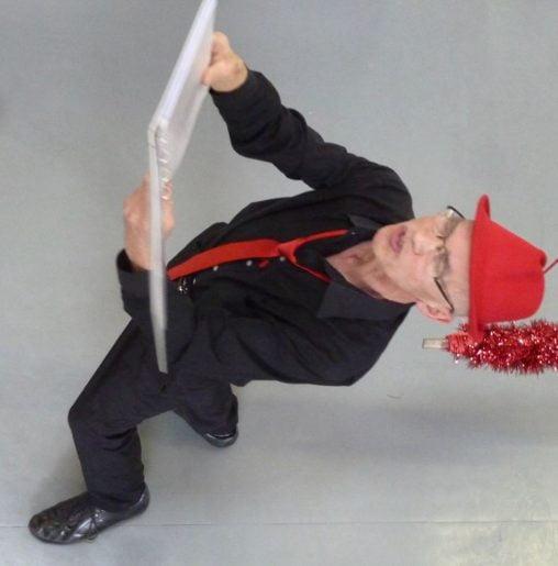Christian, poète et acrobate