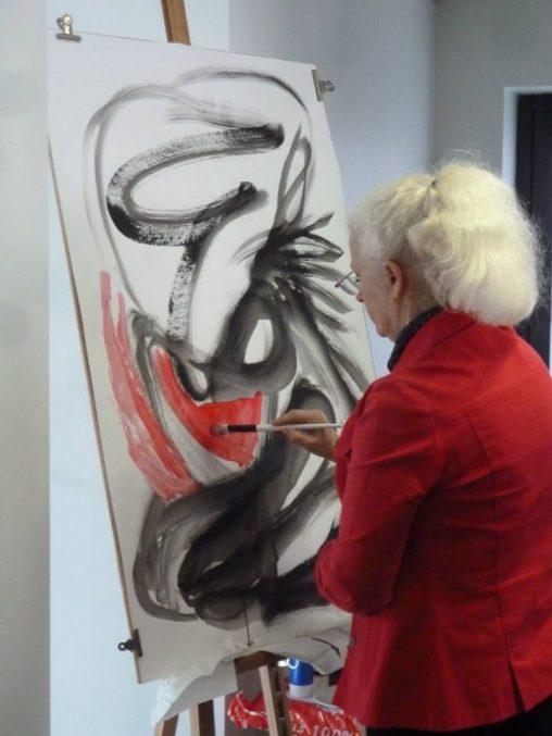 Jocelyne peintre de l'Ardeur