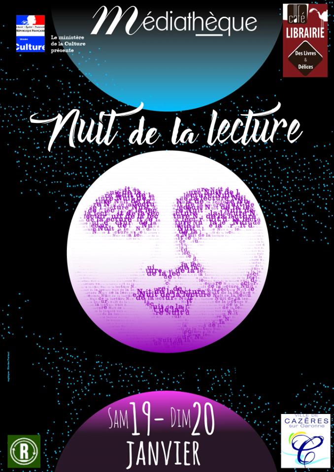 La Nuit de la Lecture 2019 à Cazères