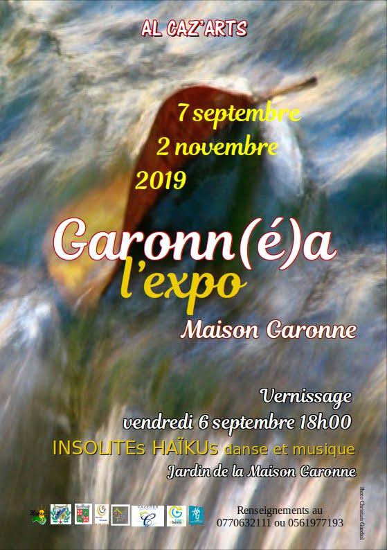 Exposition Garonnéa à Cazères-sur-Garonne 2019