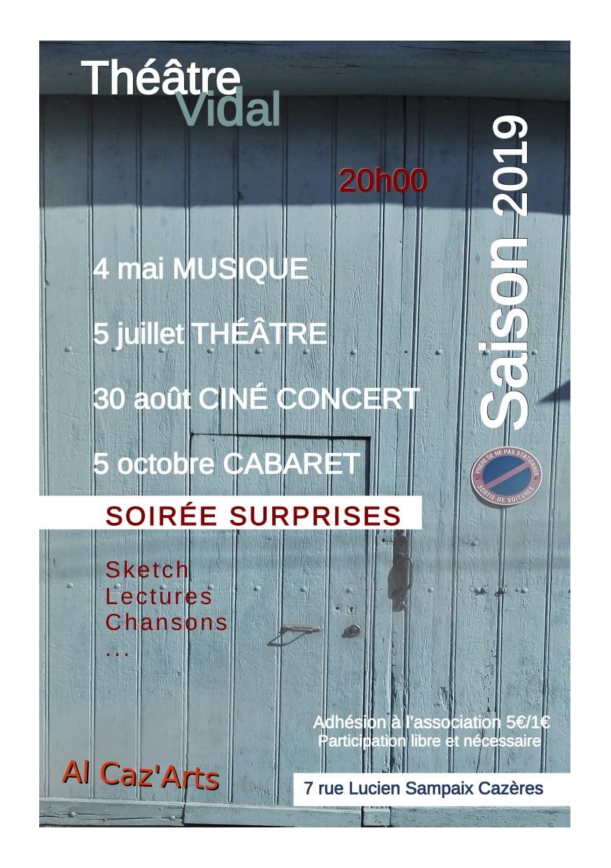 theatre vidal cazeres 2019